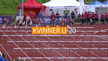 110 Meter Hekk Finale – Junior NM Friidrett 2016