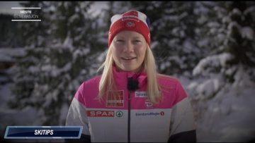Amalie Håkonsen Ous gir skitips til unge skiløpere