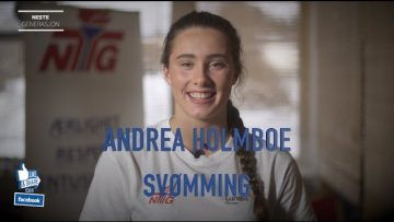 Andrea Holmboe – svømming
