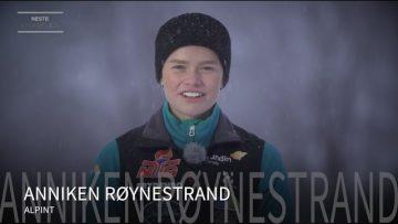 Anniken Røynstrand – alpint