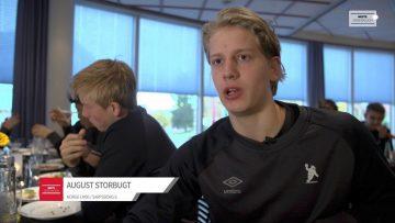August Storbugt – før kampen
