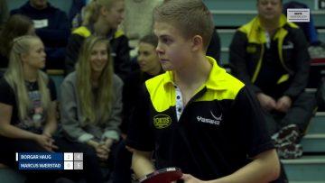 Borgar Haug vant U23 NM i bordtennis