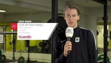 Eirik Varpe – håndball