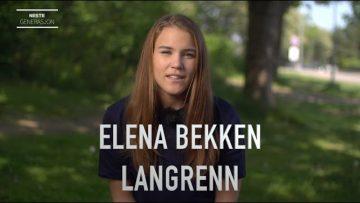 Elena Bekken – Talentportrett