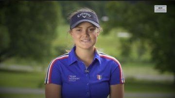 Emilie Øverås – golf