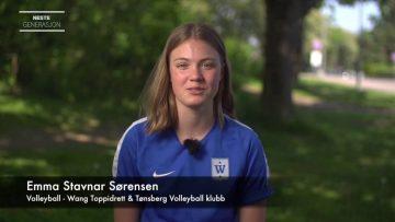 Emma Stavnar Sørensen – talentportrett