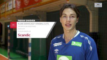 Fabian Sandven – håndball
