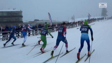 Finale Junior-NM langrenn sprint 2018 – M18