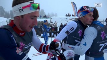 Finale Junior-NM langrenn sprint 2018 – M19/20