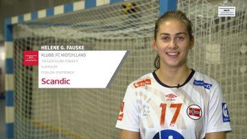 Helene Fauske – håndball