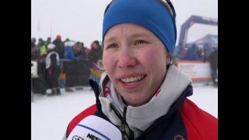 Helene Marie Fossesholm – seier Junior-NM langrenn sprint 2017 K17