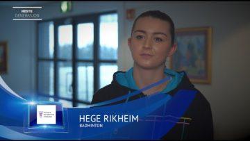Idretten Min – badminton