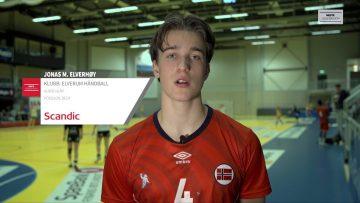 Jonas Elverhøy – håndball
