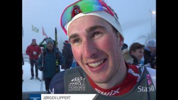 Jørgen Lippert – vinnerintervju Junior-NM langrenn sprint 2018