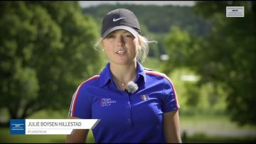 Julie Boysen Hillestad – golf