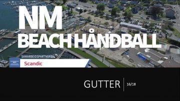 Junior-NM – Beach Håndball 2017 – Gutter