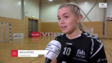 Junior-NM – semifinale mellom Rælingen HK og  Sola Håndball – høydepunkter