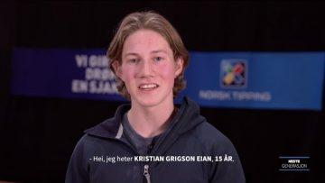 Kristian Grigson – klatring – Ungdomslekene 2017