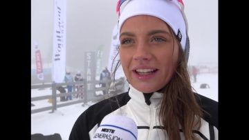 Kristine Stavås Skistad – vinnerintervju Junior-NM langrenn sprint 2018