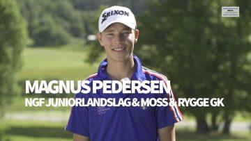 Magnus Pedersen golf