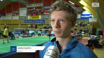 Markus Barth – Norwegian International