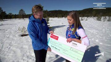 Marte Skaanes – vinner av påSKI sin Sprint Challenge 2015/2016