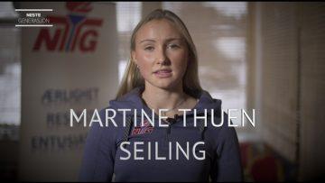 Martine Thuen – seiling