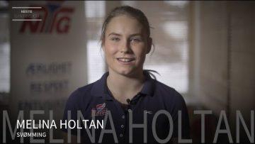 Melina Holtan – svømming