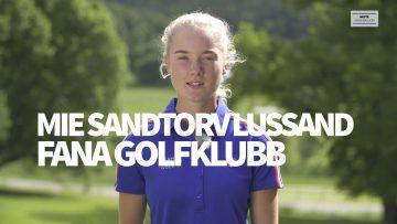 Mie Sandtorv Lussand – golf
