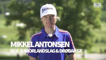 Mikkel Antonsen – golf