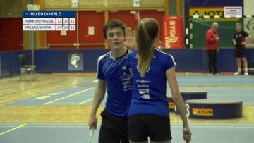 Mixed Double finale – UBM 2018 – Badminton