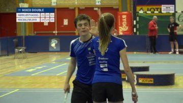 Mixed Double finale – UBM 2018 – Badminton