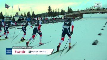 Norges Cup langrenn – Sprintfinale gutter – Gålå