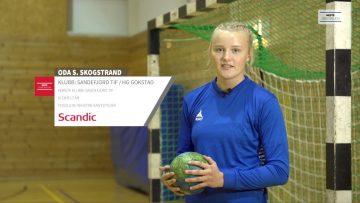 Oda Skogstrand – håndball