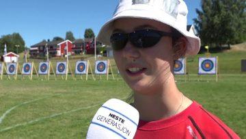 Silje Røe – Nordisk Ungdomsmesterskap 2018 – bueskyting