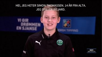 Simon Thomassen – biljard