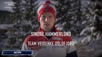 Sindre Hammerlund gir skitips til unge løpere
