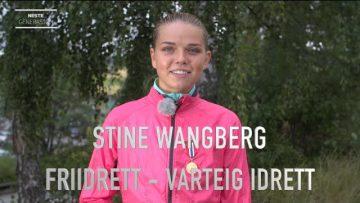 Stine Wangberg – Talentportrett