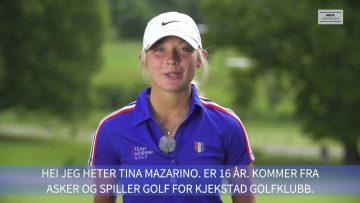 Tina Mazarino – golf