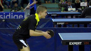 U23 NM 2018 – bordtennis – semifinale