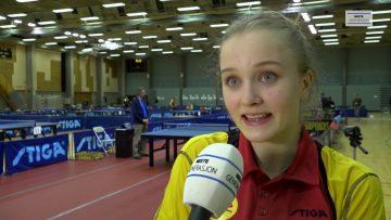 U23 NM – Bordtennis – semifinale