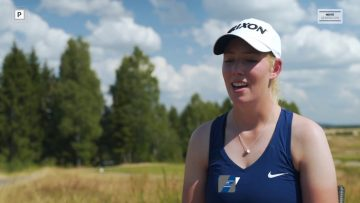 Franziska Sliper – Lag-NM golf 2018