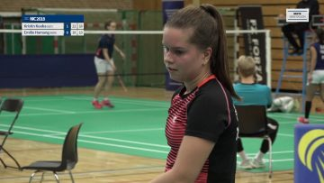 Norwegian International Championship 2018 – dame singel – Emilie Sotnes Hamang