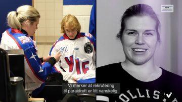 Lena Schrøder paraischockey