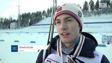 VM-Sølv til Håvard Moseby på 30 km fellestart.
