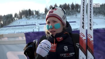 VM-sølv til Helene Marie Fossesholm på 15km fellesstart