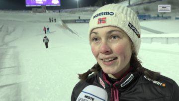 Silje Opseth på fjerdeplass i junior VM i hopp