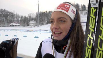VM-gull på stafett til juniorjentene i Lahti